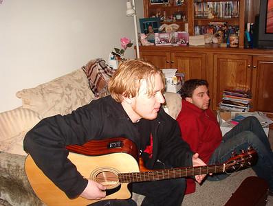 Bryan and Andy at Matt's house