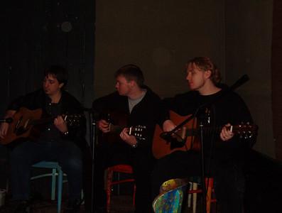 We perform