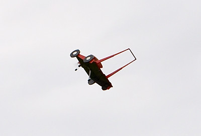 I seen a horse fly, I seen a dragon fly, I even seen a house fly. But I ain't ever seen a lawnmower fly.