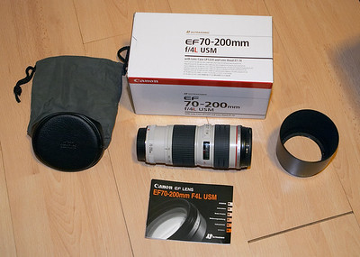 My first white lens, woo