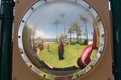 I spy with my bigass camera...