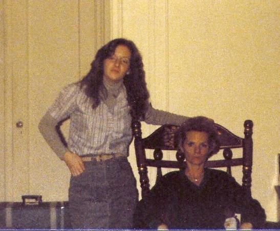 Mom & Kathi 1981