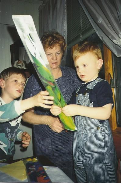 Shaun, Grandma & Mark Ryan