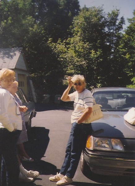 Mom & Aunt Nancy 1988