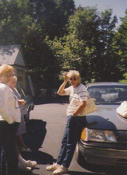 Mom & Aunt Nancy 1988