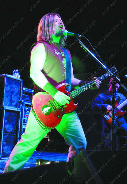 Corrosion of Conformity2/Saturday Brent Braaten-April 15/2005  Peper Keenan lead singer with Corrosion of Conformity plays the CN Centre Friday night. They were one of three opening bands for Motorhead that played to a crowd of 1,000.