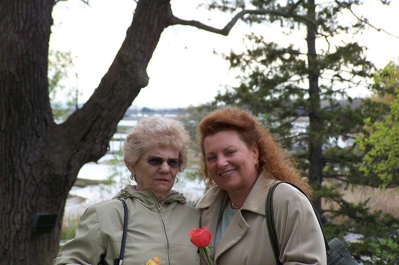 Grandma & Aunt Patti - Mother's day 2005