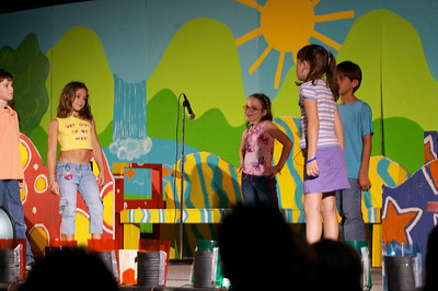 Natalia's class performs the opera they wrote