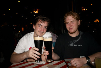 Ahh, finally, my months-long craving for Guinness on tap is satisfied