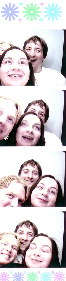 It's kind of painful to cram three people into one of those photo booths