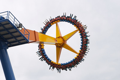 You have to have lots of faith in Cedar Point's engineers