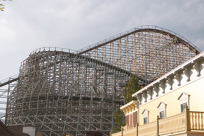 The Mean Streak at sunset