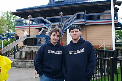 The Cedar Point twins