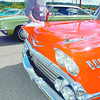 Vitage Car Club2/Tuesday Brent Braaten-May 21/2005  Barry Whymark details his 1958 Chev Impala at the Prince George Railway and Forestry Museum Saturday afternoon. About 125 members of the Vintage Car Club of Canada were in Prince George for their annual May tour. Whymark is from Maple Ridge, B.C.