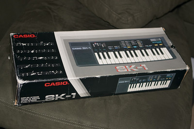 My Casio SK-1 arrives!