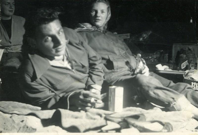 Donald & Ginger Jones Beach 1953