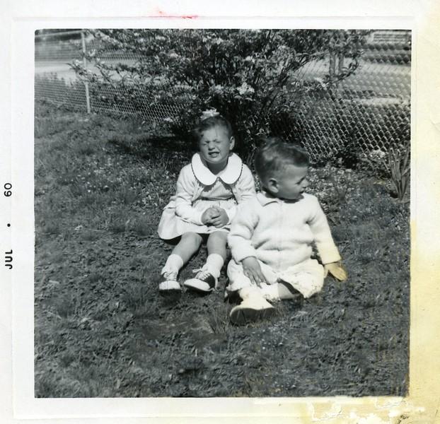 Patti & Kenneth Spring 1960