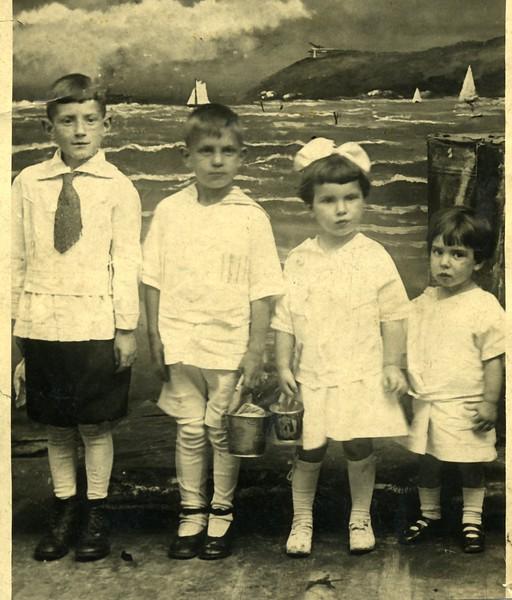 Jimmy Willie Ruth Eddie 1918