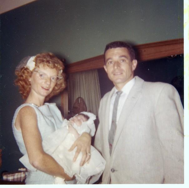 Mom with Laura & John Marinaro - Laura's godparents