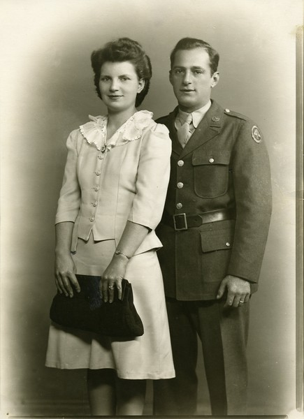 1941 Wedding Picture - Ruth and Tony Albano