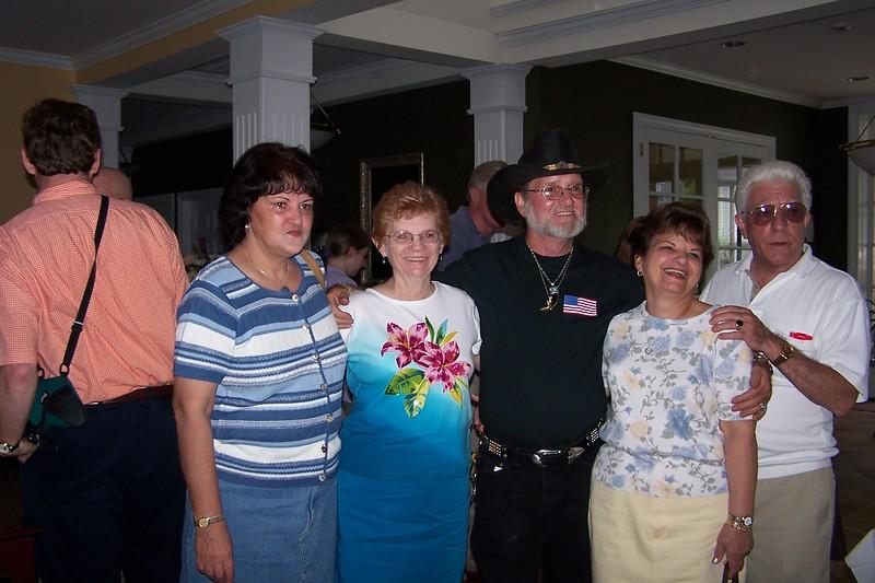Marian, Mom, Jerry, Lorraine & Ed