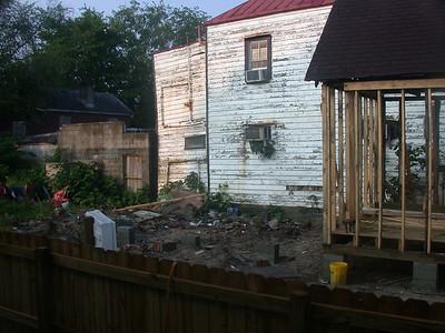 The crack house next door
