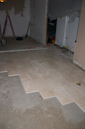 So that is the right way to lay marble tile