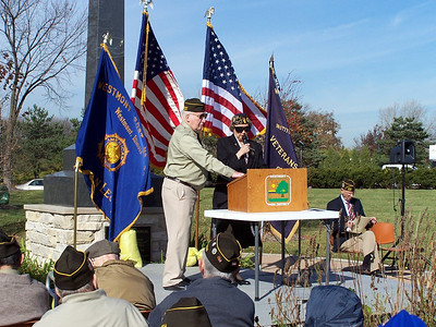 2005-11-11 Veteran's Day Ceremony