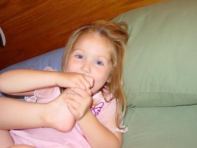2005 - August Jen & Kids Visit