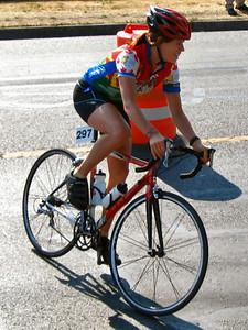 2005 Cadboro Bay Triathlon - Watch out for the rabbit hole.  Made ya look.