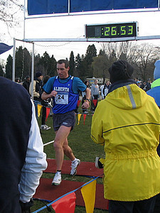 2005 Canadian XC Championships - McCloy wins