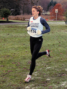 2005 Canadian XC Championships - Liz Jones - now a 'real' master