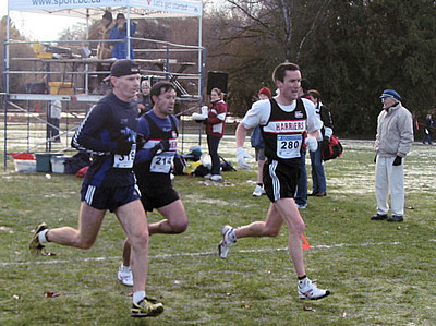 2005 Canadian XC Championships - Christie, Huerta and Michael Moon in the next group