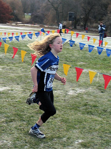 2005 Canadian XC Championships - Cyrena Timmins was 3rd in the kids 1K