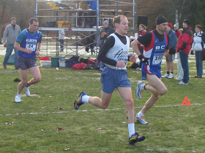 2005 Canadian XC Championships - Rob Lonergan, Steve Bachop and Paul McCloy lead