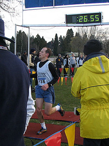 2005 Canadian XC Championships - Lonergan second