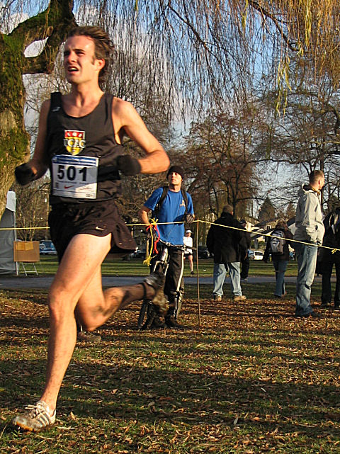 2005 Canadian XC Championships - Andrew Alley 22nd (31:48)