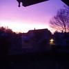 Sunrise Outside my Room