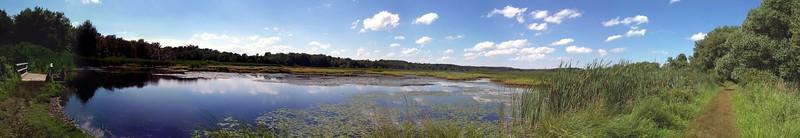 Quaker Pond Panorama