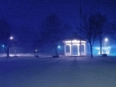 Harry Allen Park in Blue