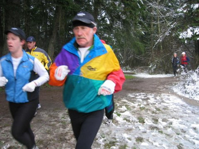 2005 New Year's Day Memorial Run - Caroline and Mike Emerson