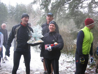 2005 New Year's Day Memorial Run - Bruce, Dan and Claire
