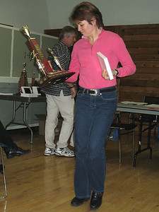 2005 PIH Awards Presentations - Debbie Scott wins the Alex Marshall Master of the Year