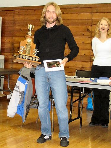 2005 PIH Awards Presentations - Most valuable runner Steve Osaduik