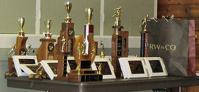 2005 PIH Awards Presentations - The table of trophies