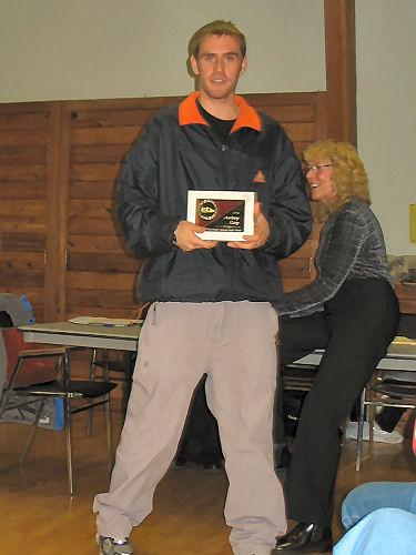 2005 PIH Awards Presentations - Anthony Estey is named Rookie of the Year
