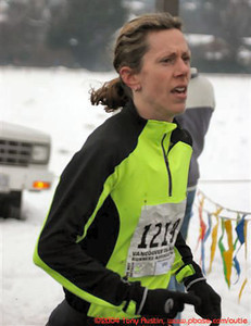 2005 Pioneer 8K - Tony Austin - Leah Pells won the women's race with the best run of the day