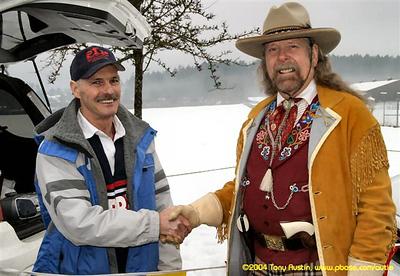 2005 Pioneer 8K - Tony Austin - Bob Reid and Captain Jack the Pioneer