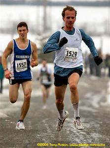 2005 Pioneer 8K - Tony Austin - Craig Odermatt just outkicks Kevin Friesen for 5th
