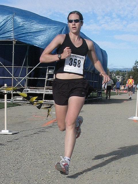 2005 Run Cowichan 10K - Meggan Hodge